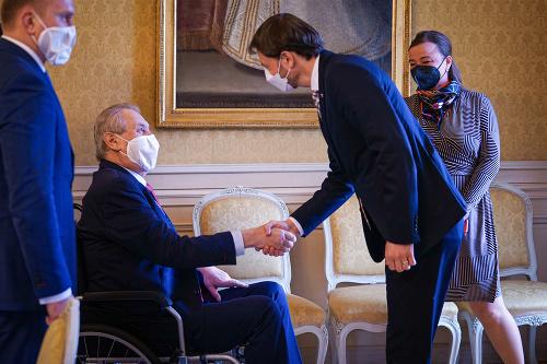 Prvá zahraničná návšteva premiéra