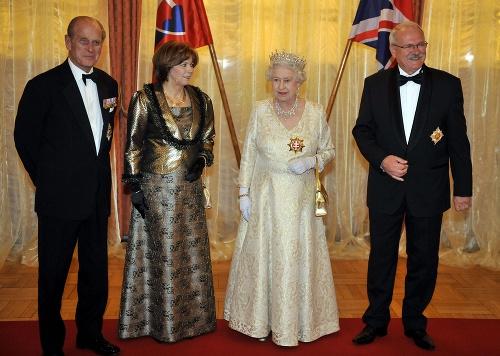 Kráľovský pár pred 12
