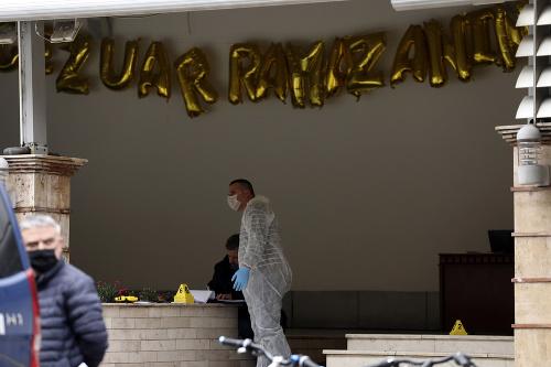 Útok v mešite v
