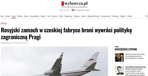 Poľský denník o ruskom