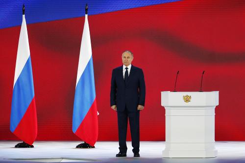 VIDEO Putin varoval Západ: