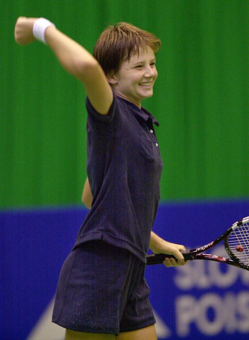 Daniela Hantuchová ako 17-ročná: