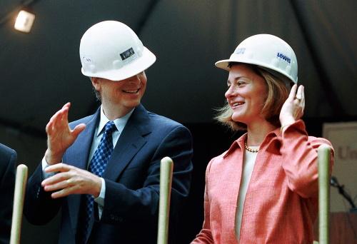 Bill Gates a Melinda