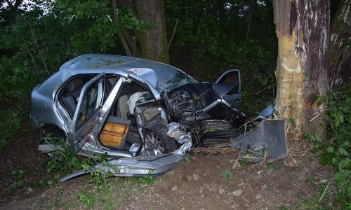 Tragická autonehoda medzi obcami