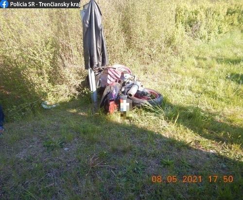 Tragická nehoda motorkára v