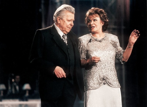 Vladimír Dvořák a Jiřina