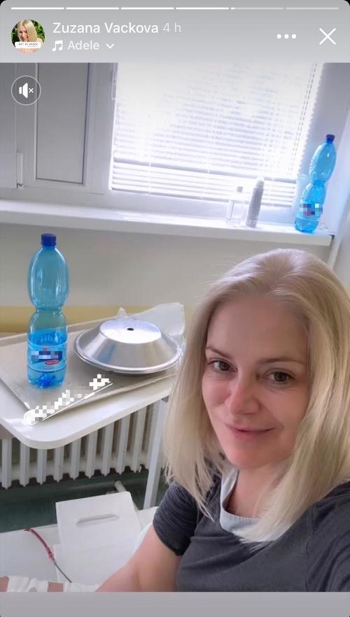 Zuzana Vačková vystrašila fanúšikov: