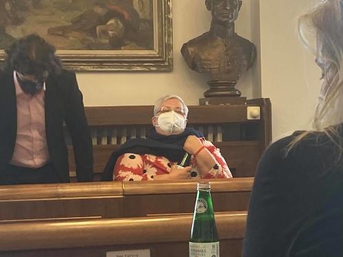 Monika Kozelová na rokovaná