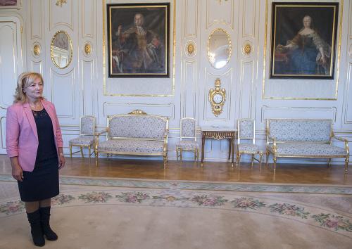 Ľubica Laššáková v Prezidentskom