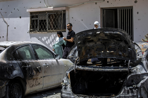 MIMORIADNE Nočný útok Hamasu,