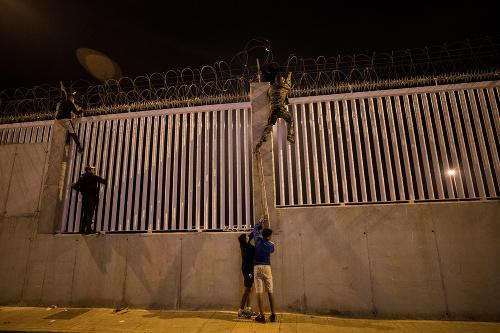 Migranti v Španielsku