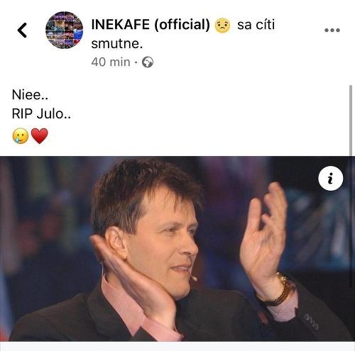 Reakcie na SMRŤ legendárneho