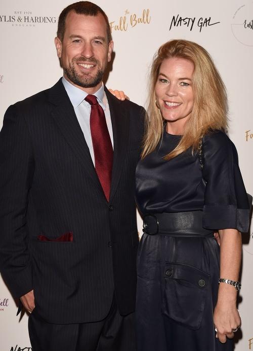 Peter Phlillips s manželkou