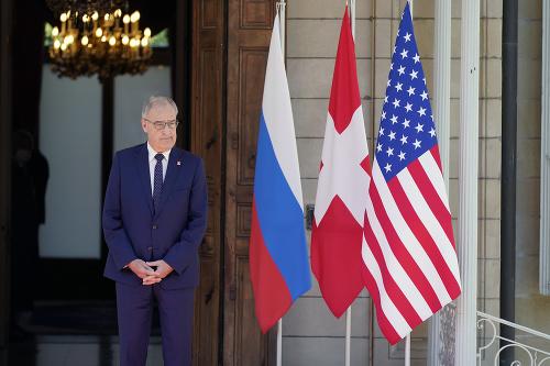 Švajčiarsky prezident Guy Parmelin
