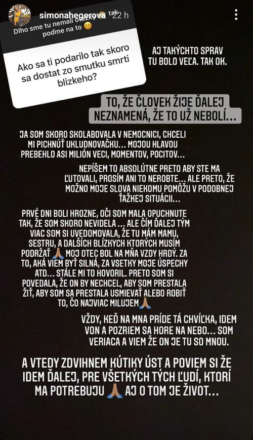 Slovenská speváčka v slzách: