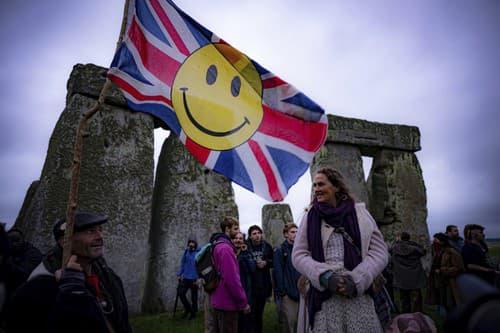 FOTO Pri Stonehenge sa