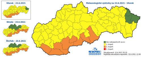 Meteorológovia varujú! Vysoké teploty
