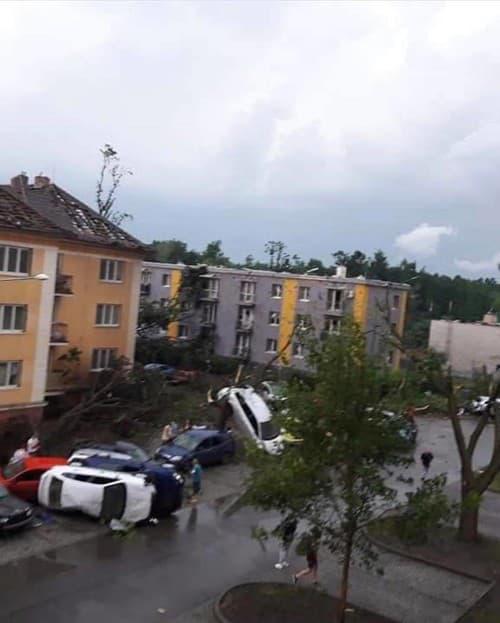 TORNÁDO na Morave: Exfarmárka