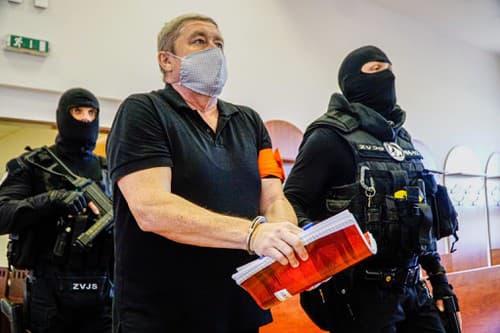 Obžalovaný Dušan Kováčik
