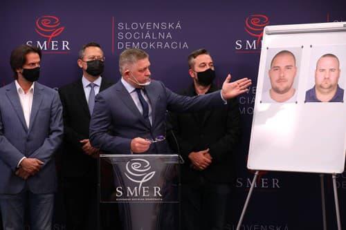 Tlačová konferencia strany Smer-SD