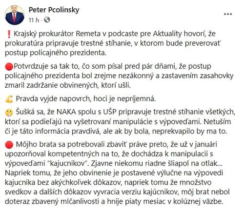Poslanec Peter Pčolinský našiel