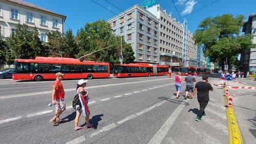 VIDEO Demonštrácie v Bratislave