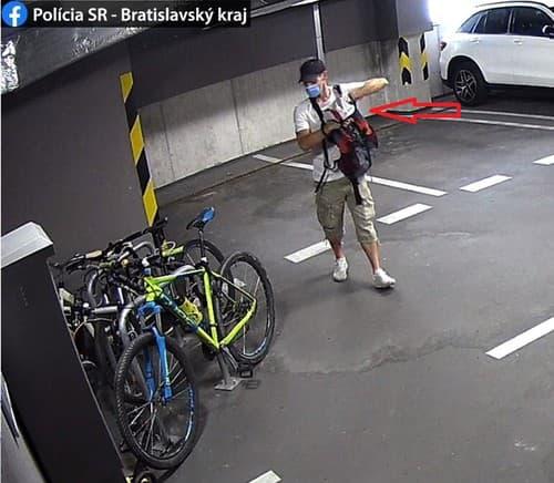Krádež kolobežky v Bratislave