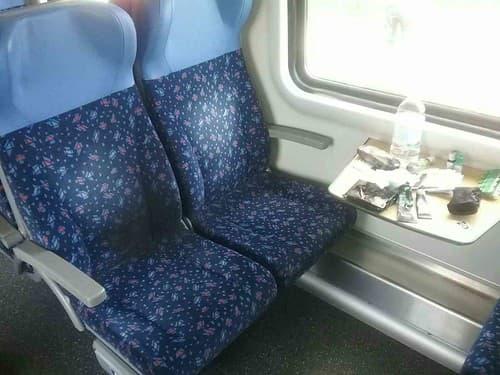 FOTO Cestovanie vlakom sa