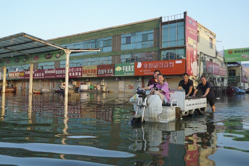 Povodne v Číne