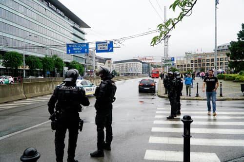 VIDEO Situácia na proteste
