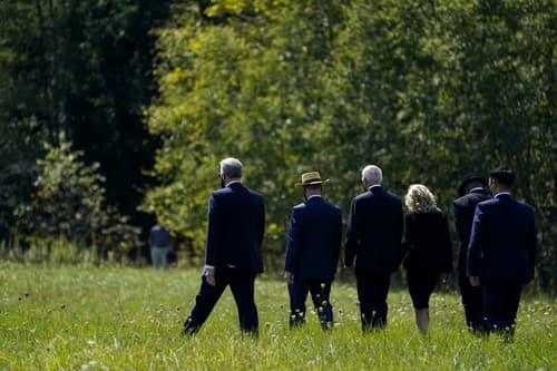 Prezident Biden neplánovane verejne