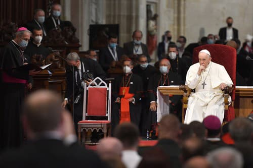 ONLINE Pápežov druhý deň