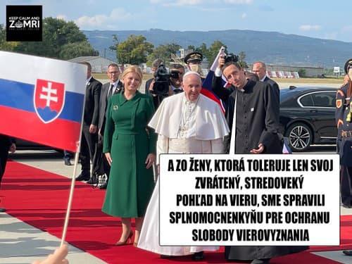Pápežov príchod prebudil z
