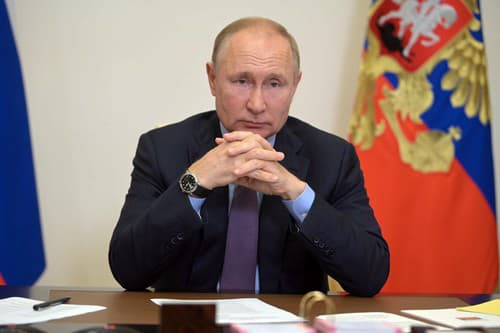 Ruský prezident Putin dúfa,