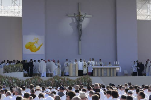 Pápež František v Šaštíne