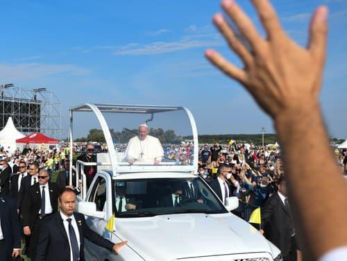 Návšteva pápeža Františka v