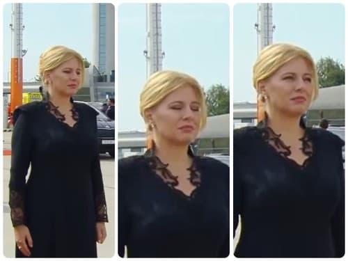 Prezidentka Čaputová na letisku