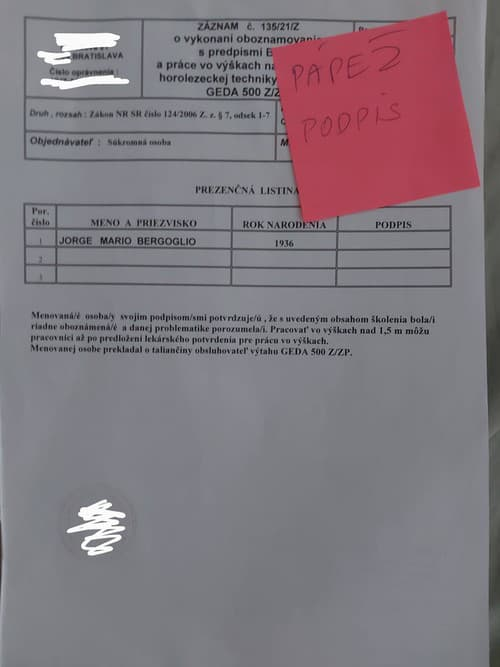 Slovenská byrokracia neobišla ani
