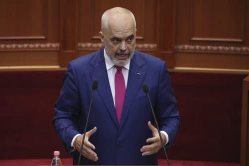 Premiér Albánska Edi Rama