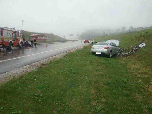 Dopravná nehoda na D1