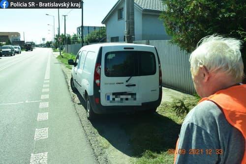 Polícia hľadá svedkov nehody