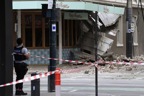 Zemetrasenie spôsobila materiálne škody