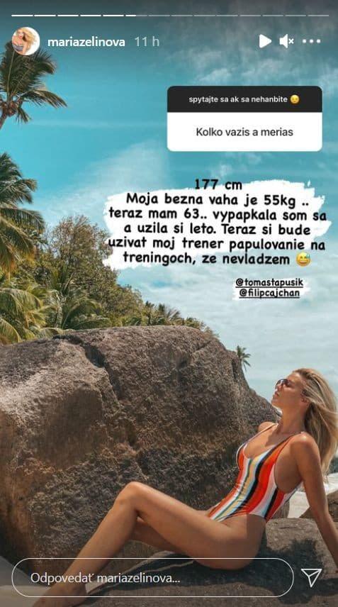 Slovenská moderátorka sa v