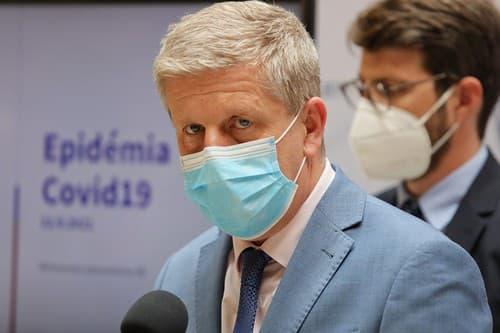 Tlačová konferencia ministra zdravotníctva