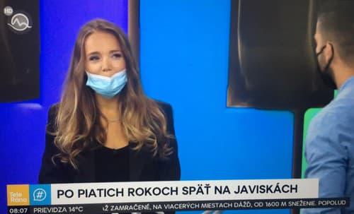 Vondráčková prišla na Slovensko