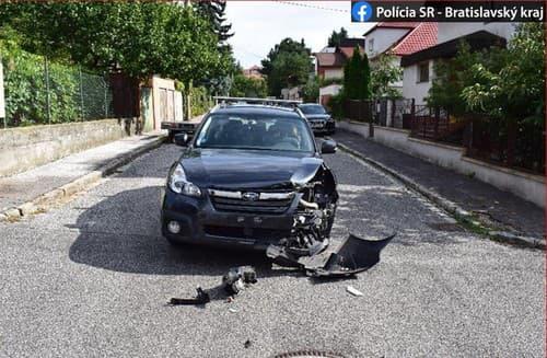 KURIÓZNA nehoda v centre