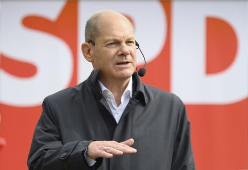 Olaf Scholz, kandidát na
