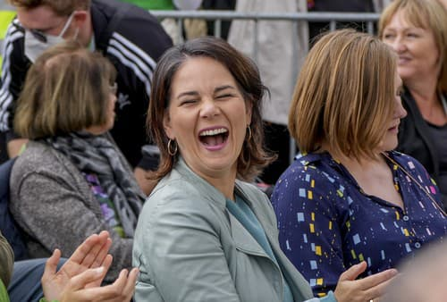 Annalena Baerbock, kandidátka na