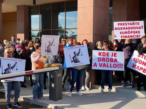 Veľký protest pod Kolíkovej