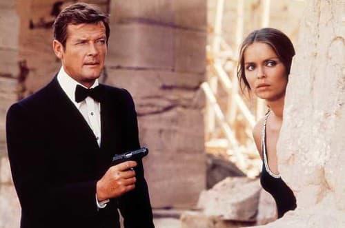 Roger Moore a Barbara